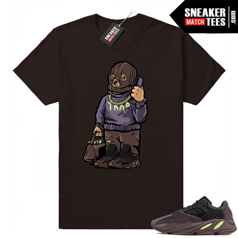Yeezy Bear Muave 700 Trap t-shirt