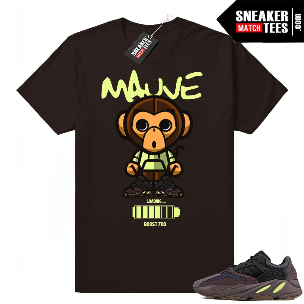Yeezy Boost 700 Mauve Loading shirt