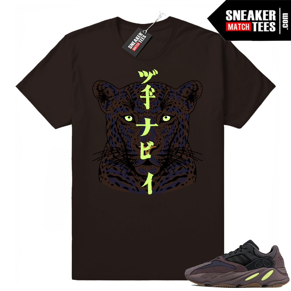 Yeezy Mauve 700 Leopard shirt