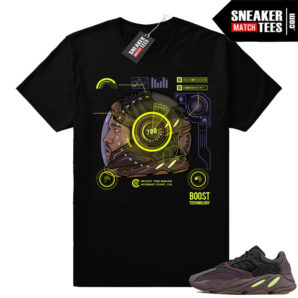 Yeezy Mauve 700 T-shirt to match