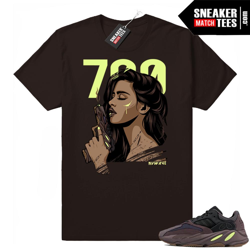 Yeezy Mauve 700 sneaker shirts