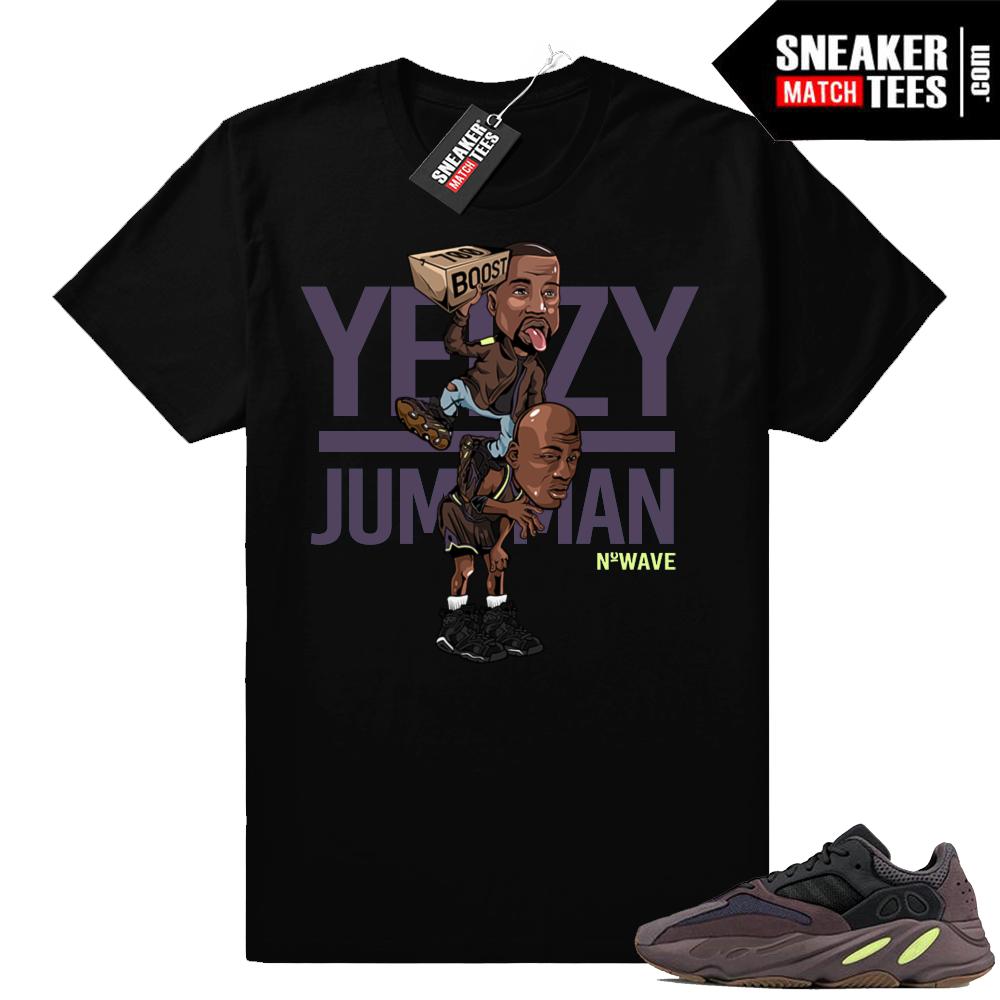 Yeezy Over Jumpman T-shirt Mauve 700