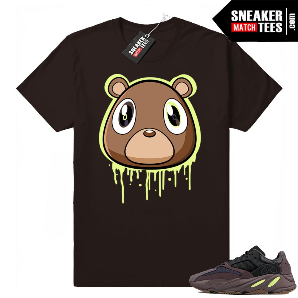 Yeezy bear t-shirt Mauve 700
