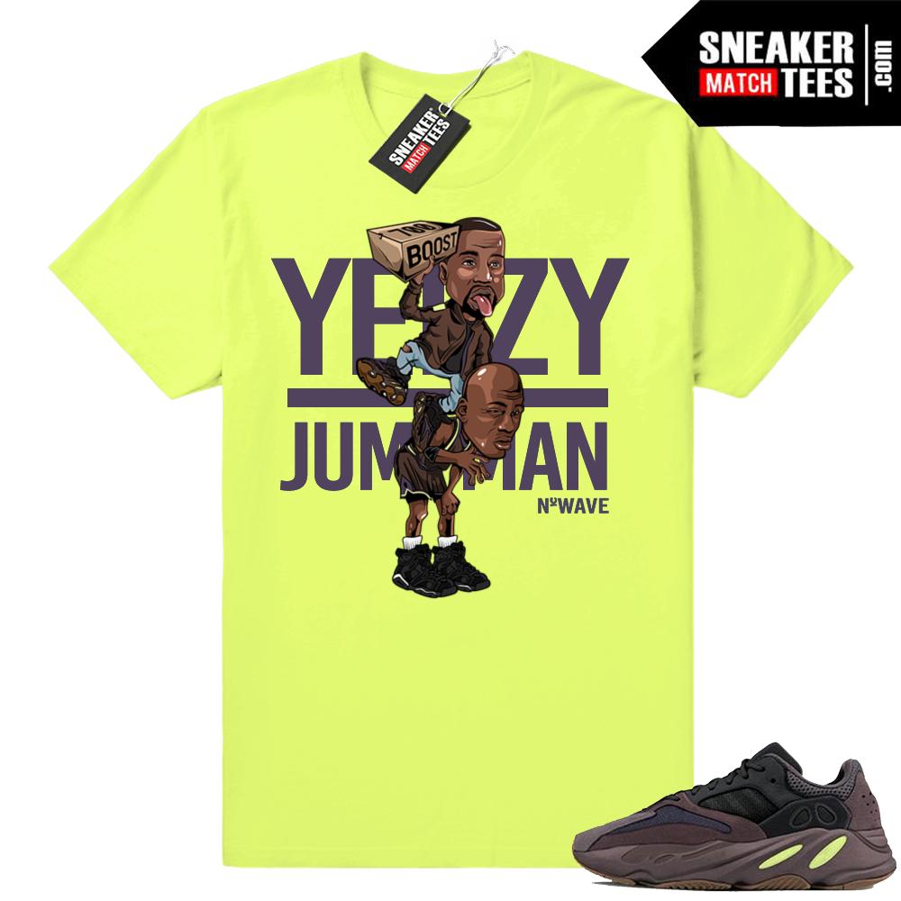 Yeezy over Jumpman shirt
