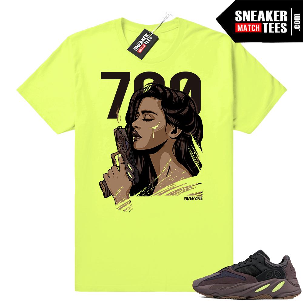 Yeezy t-shirt Mauve 700