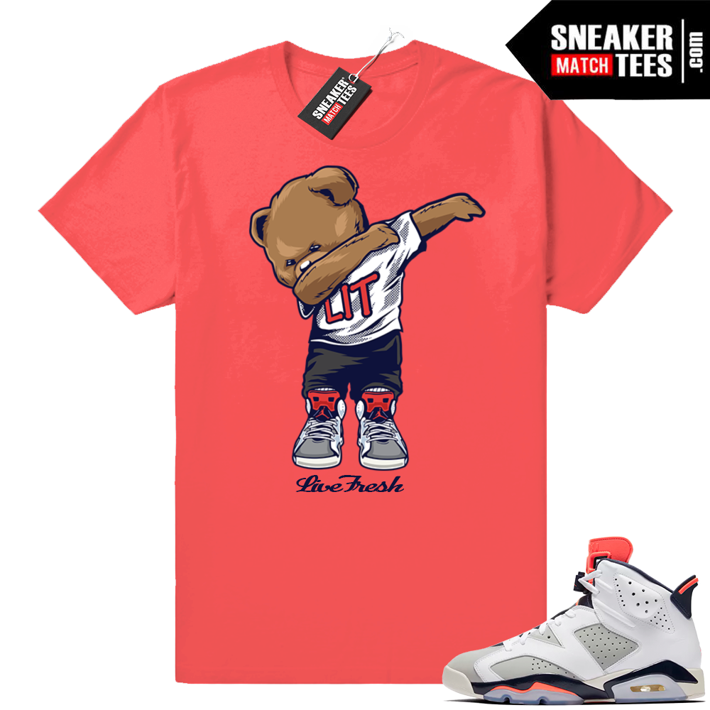 infrared Jordan shirt match