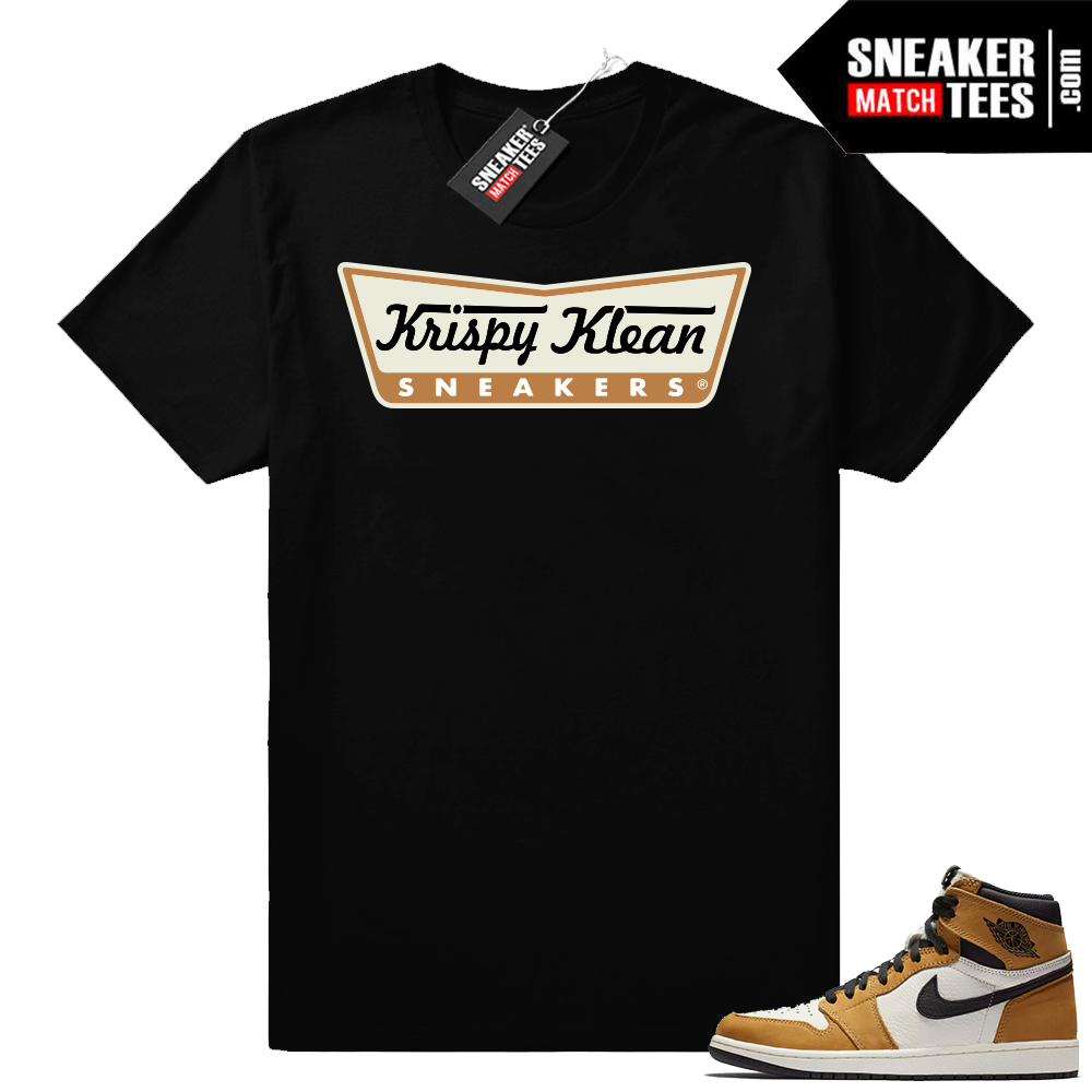 Air Jordan 1 Rookie of the Year Black T-shirt