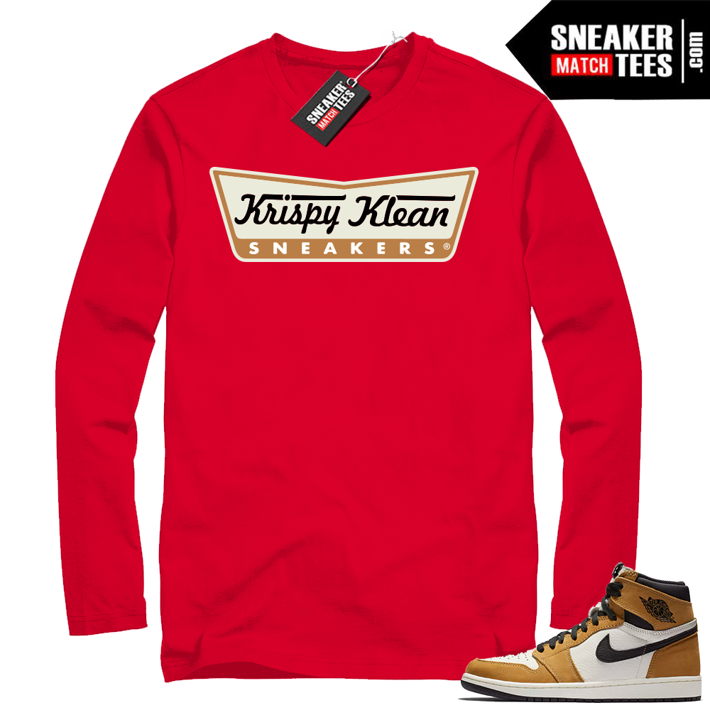 Air Jordan 1 Rookie of the Year Red Long Sleeve