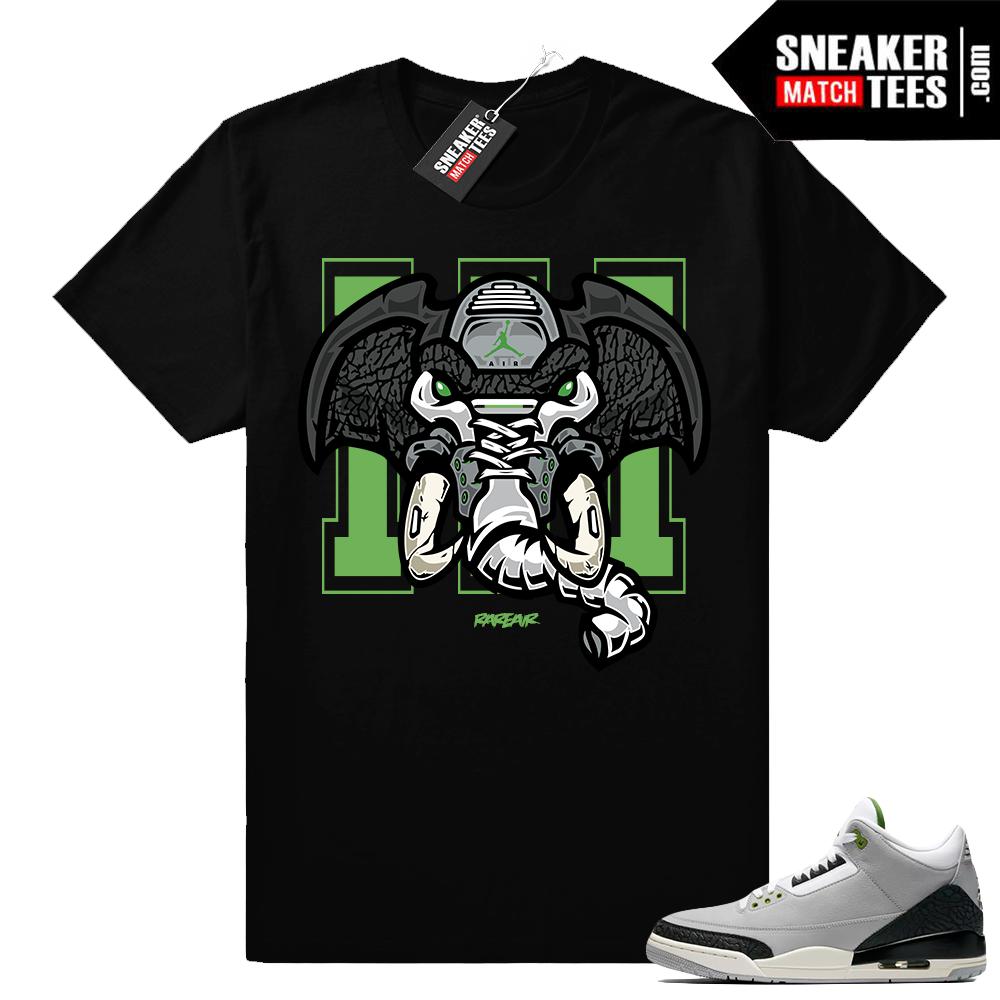 Air Jordan 3 Chlorophyll match shirt