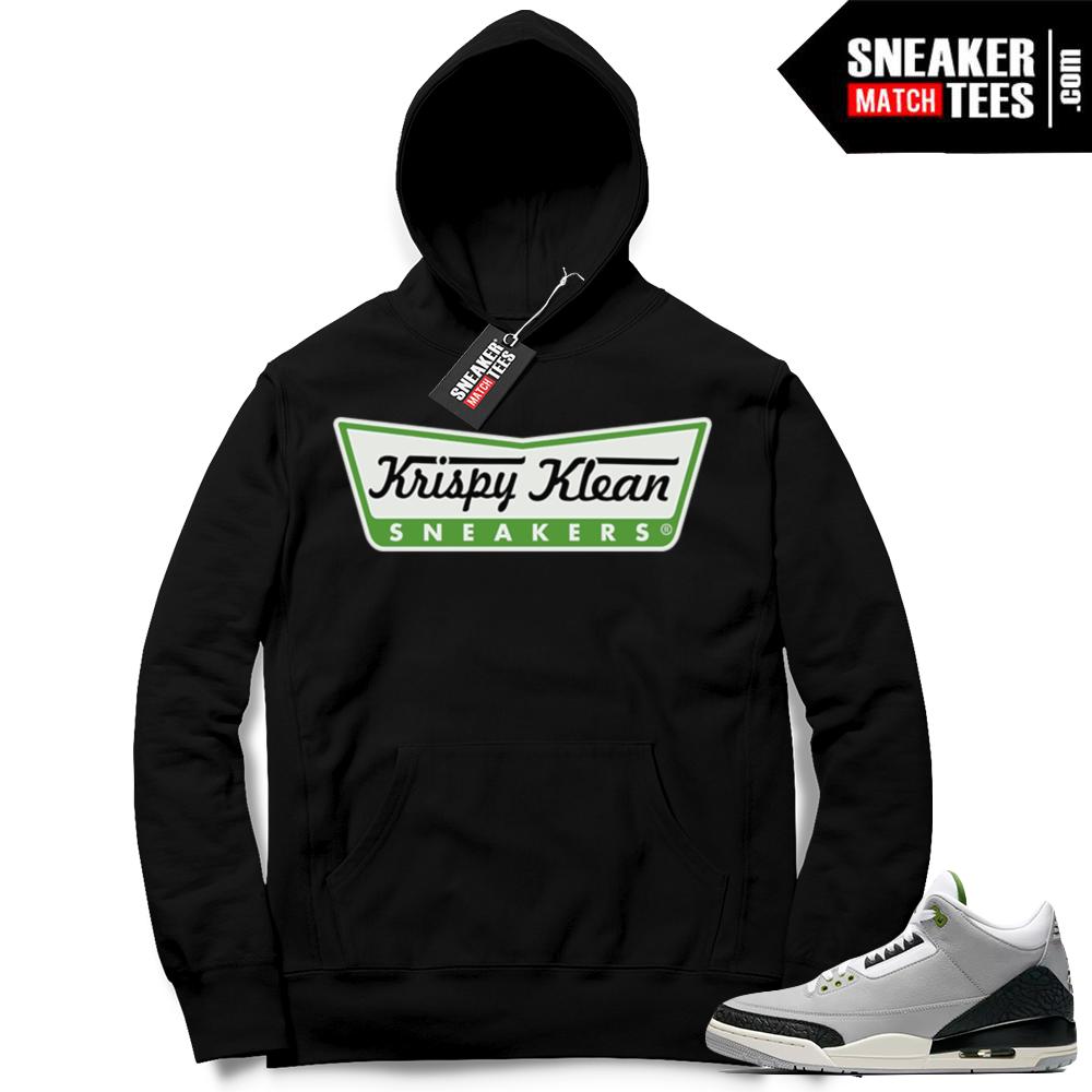 Air Jordan 3 retro hoodie Chlorophyll