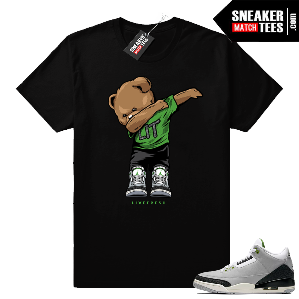 Air Jordan 3 shirt Chlorophyll