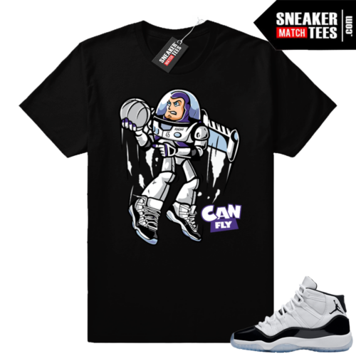 Concord 11 shirt Can Fly Concords