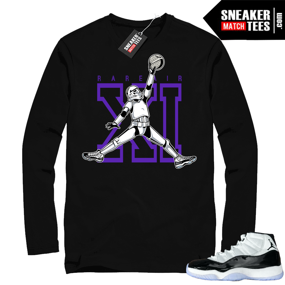 Concord 11s Jumpman Trooper Long Sleeve T-shirt