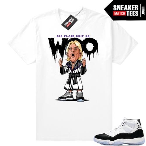 Concord Jordan 11 White shirt