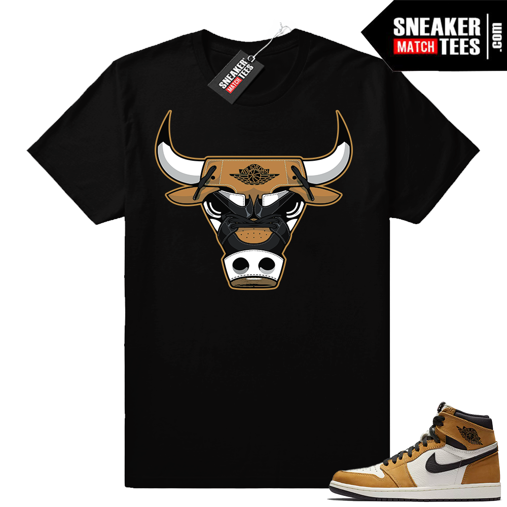 Jordan 1 Rookie of the Year Bull shirt