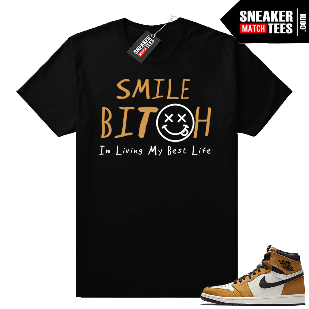 Jordan 1 Rookie of the Year matching tee