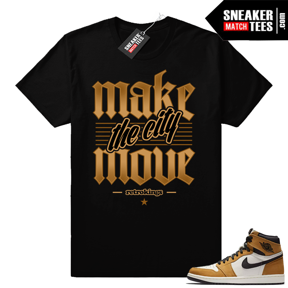 Jordan 1 Rookie of the Year tee Shirt