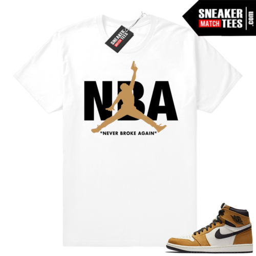 Jordan 1 Rookie of the year matching tees