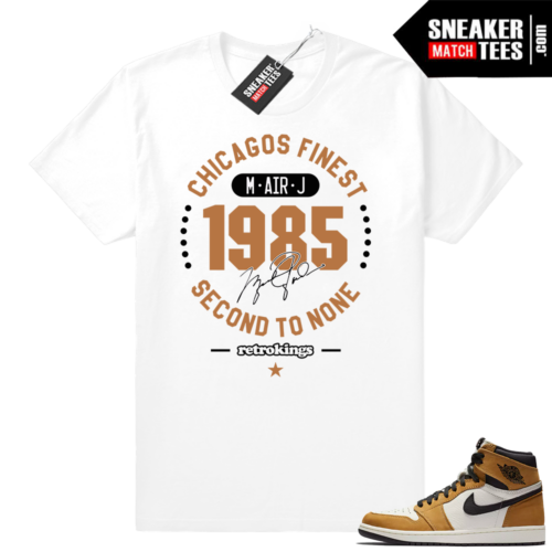Jordan 1 shirt Rookie of the Year