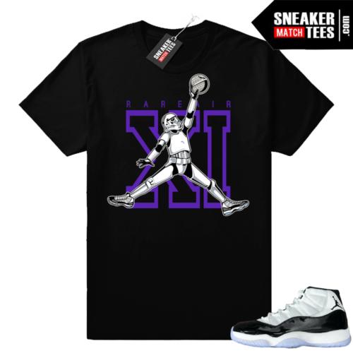 Jordan 11 Concord Jumpman Trooper t-shirt