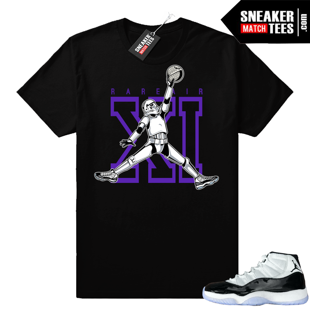 Jordan 11 Concord Jumpman Trooper t-shirt