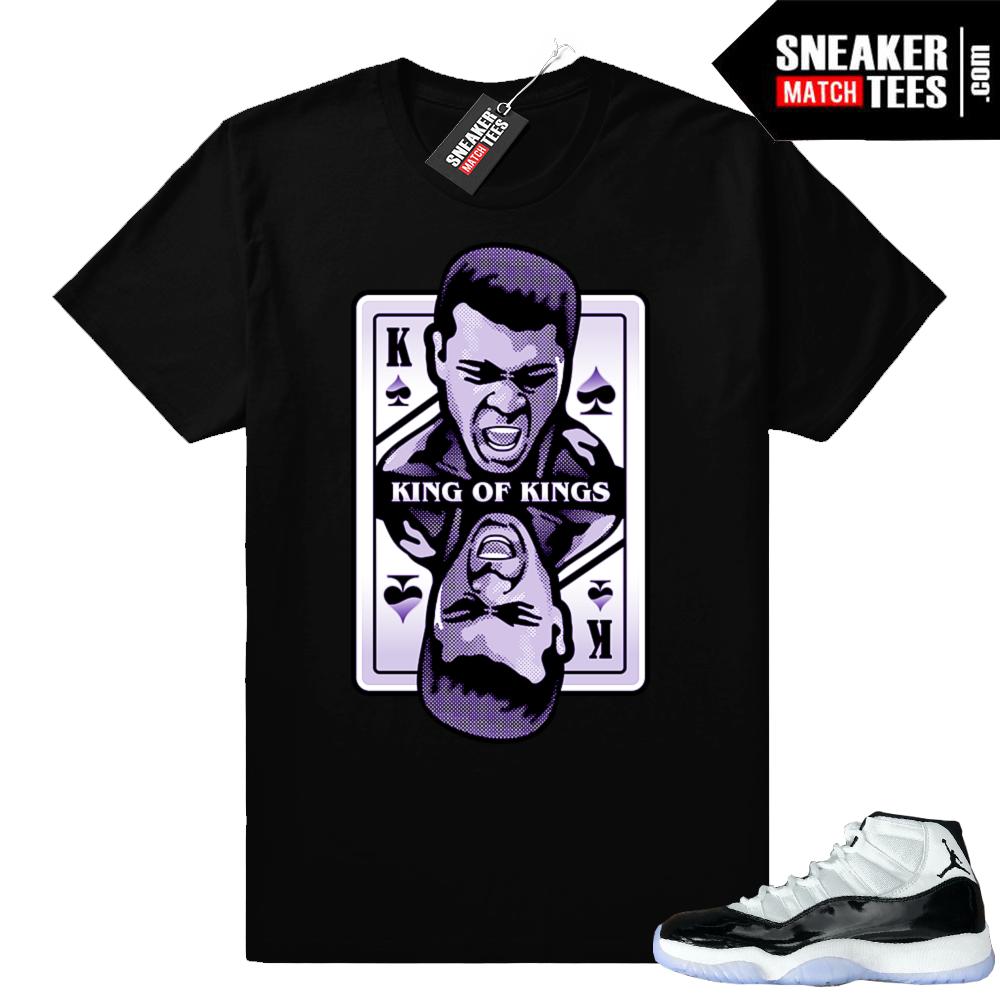 Jordan 11 Concord King Ali shirt