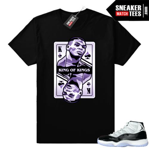 Jordan 11 Concord King Mike Tyson shirt