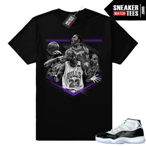 Jordan 11 Concord MJ tribute tee