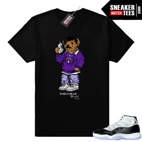 Jordan 11 Concord Pablo Bear shirt