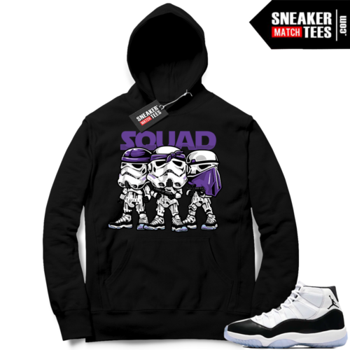 Jordan 11 Concord Squad Hoodie