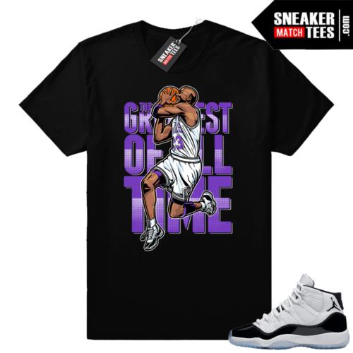 Jordan 11 Concord shirt Greatest