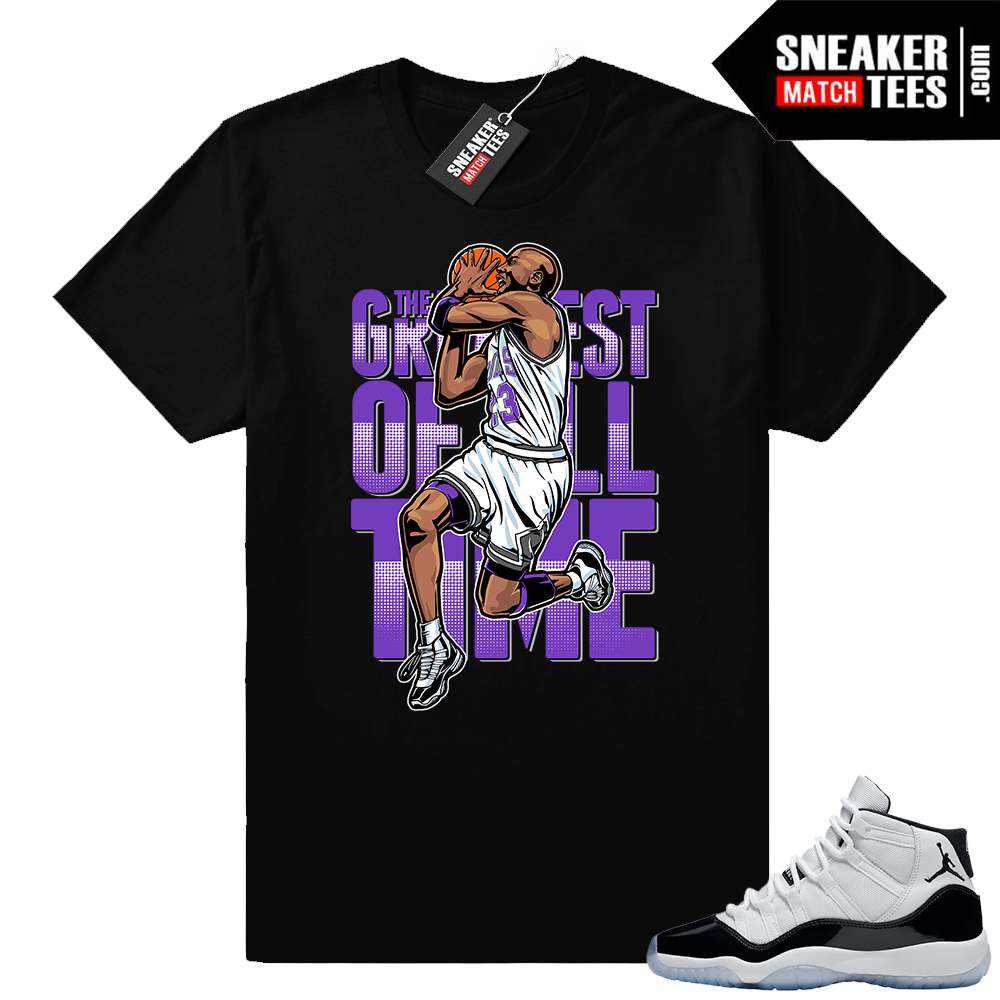 Jordan 11 Concord shirt Greatest