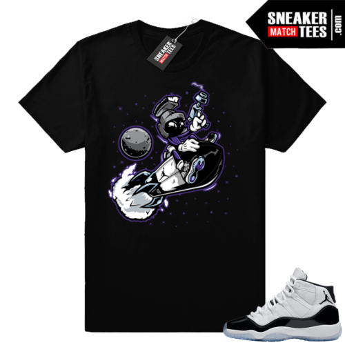 Jordan 11 Concord shirt Martian Rocket