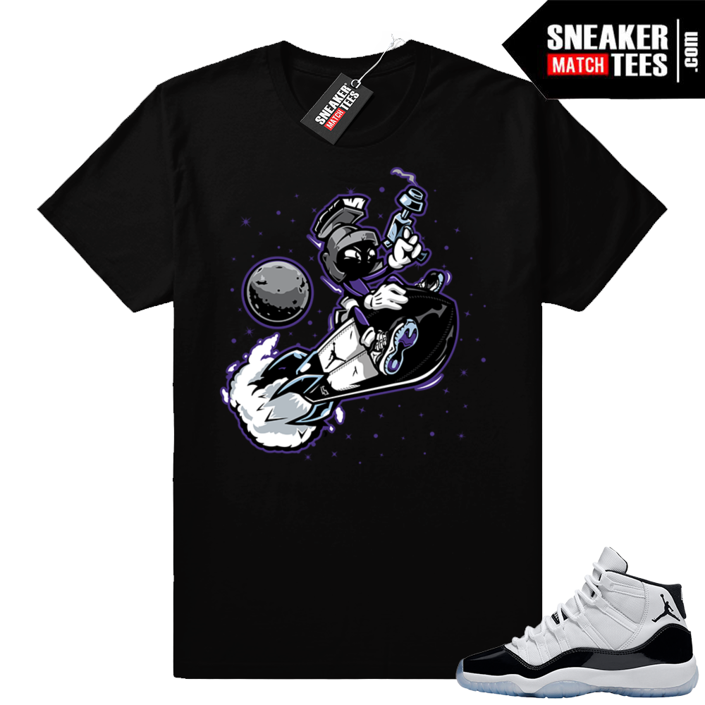 Jordan 11 Concord shirt Martian Rocket