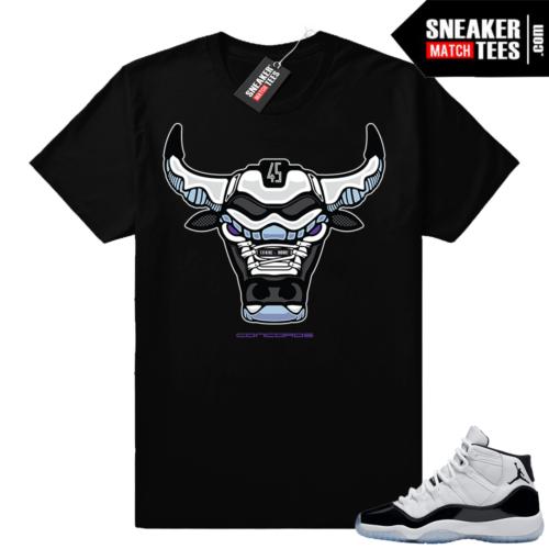 Jordan 11 Concord shirt sneaker match