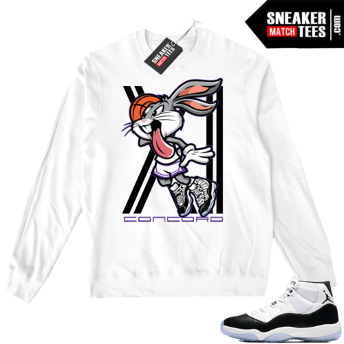 Jordan 11 Sweater Concord