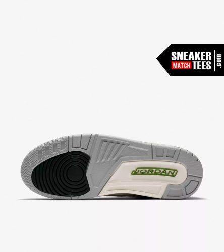 Jordan 3 Chlorophyll shirts match sneakers (3)