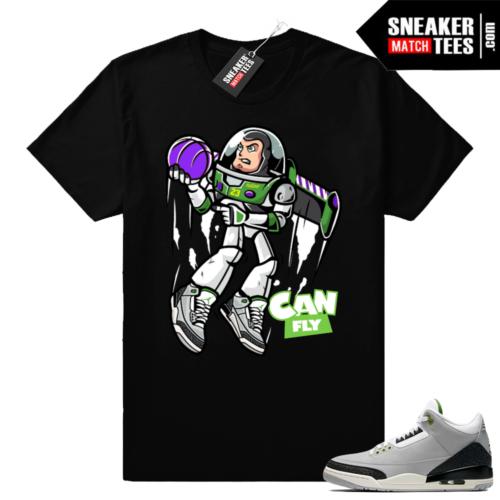 Jordan 3 Chlorophyll t-shirts