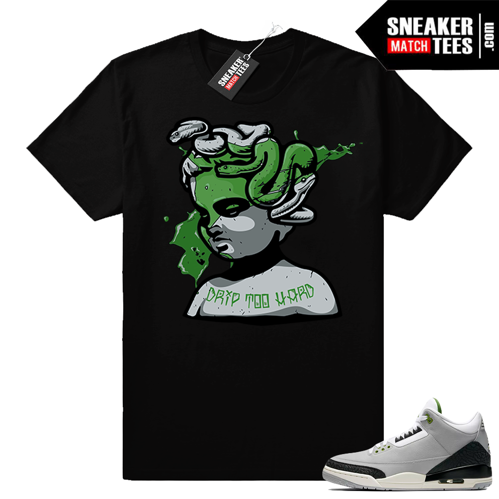 Jordan 3 Drip too Hard Black Sneaker tees