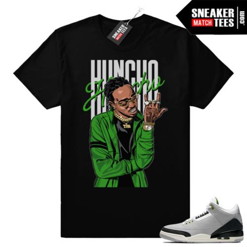 Jordan 3 Huncho Huncho sneaker tee