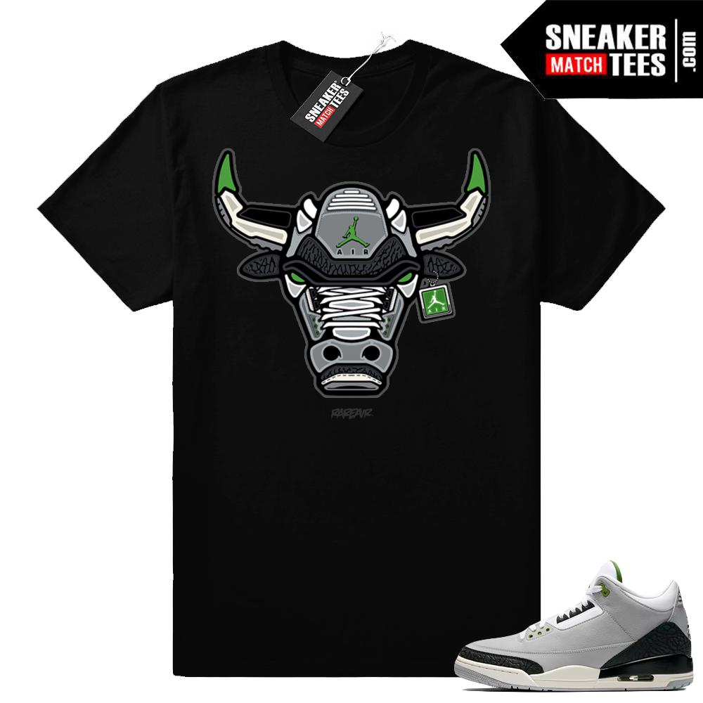 Jordan 3 retro shirt Chlorophyll