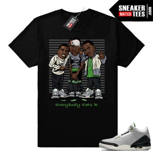 Jordan 3 retro shirts Chlorophyll 3s