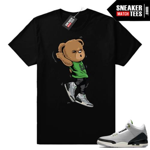 Jordan 3 shirts Chlorophyll