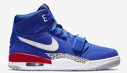Jordan release dates Legacy 312 Pistons