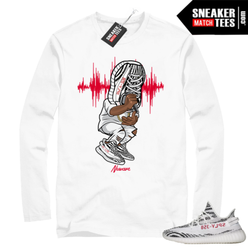 Sneakerhead Yeezy Zebra Long Sleeve
