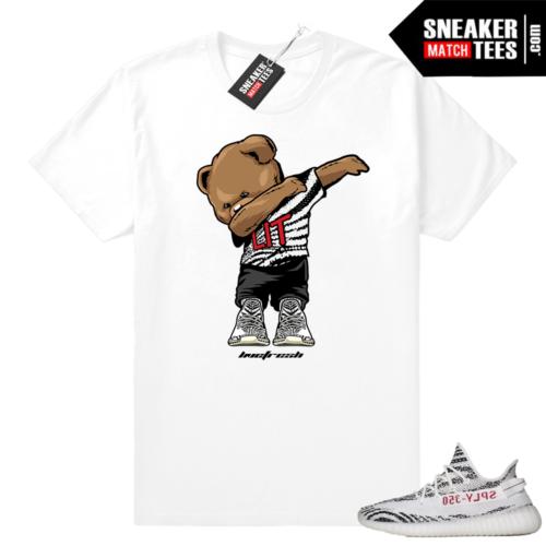 Yeezy 350 Zebra t-shirt match