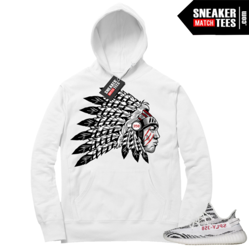 Yeezy Hoodie Zebra Chief