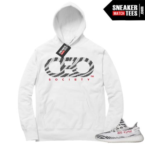 Yeezy Zebra CEO Hoodie