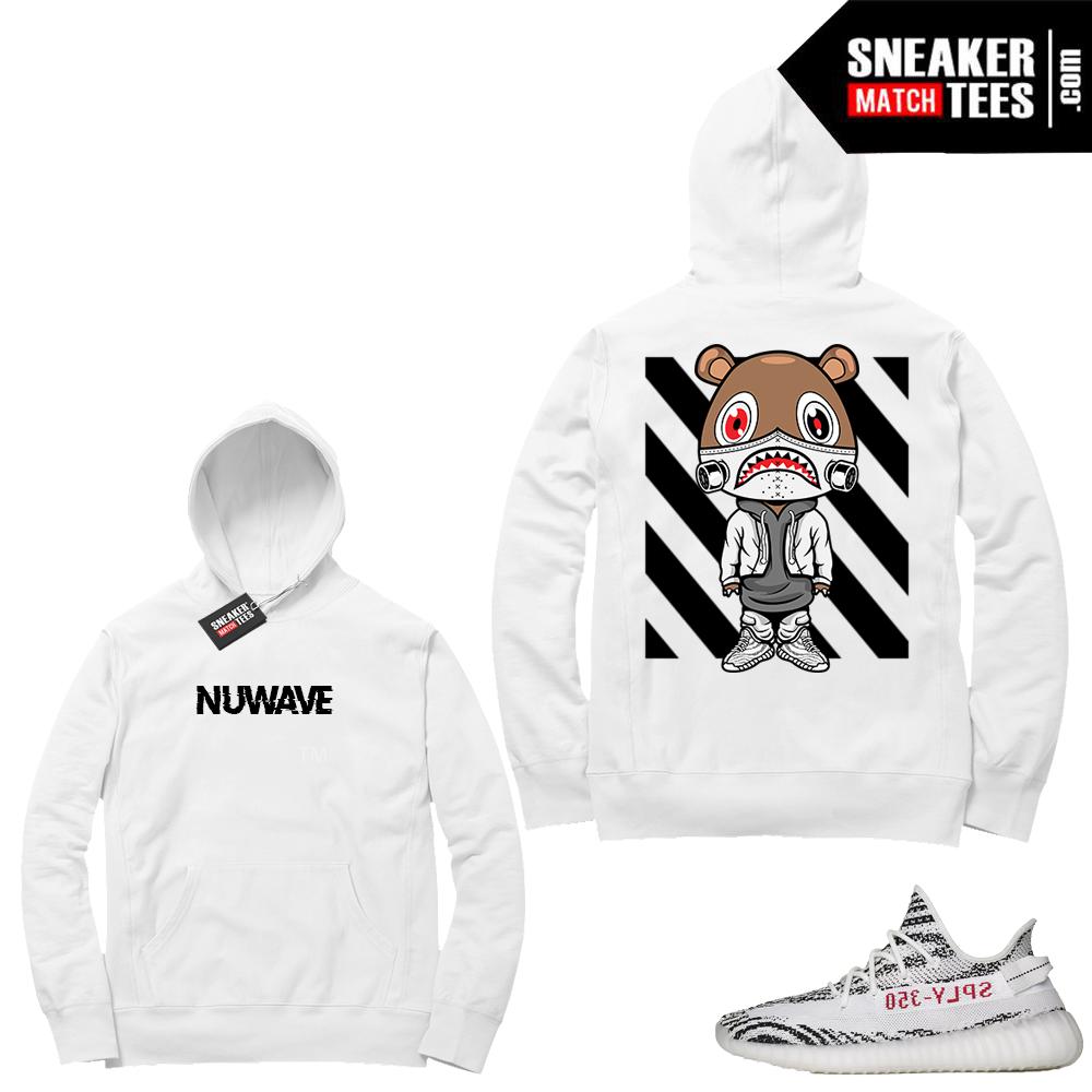Yeezy Zebra NuWave Bear Hoodie