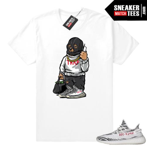 Yeezy Zebra shirt Trap Bear